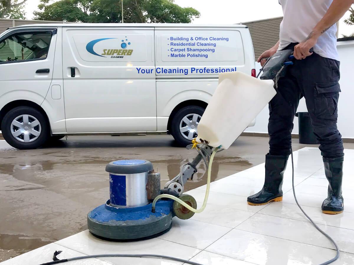 Residential Floor Polishing