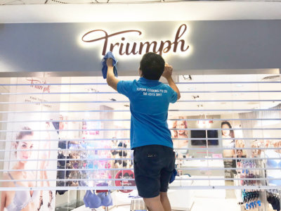 Triump Store Cleaning